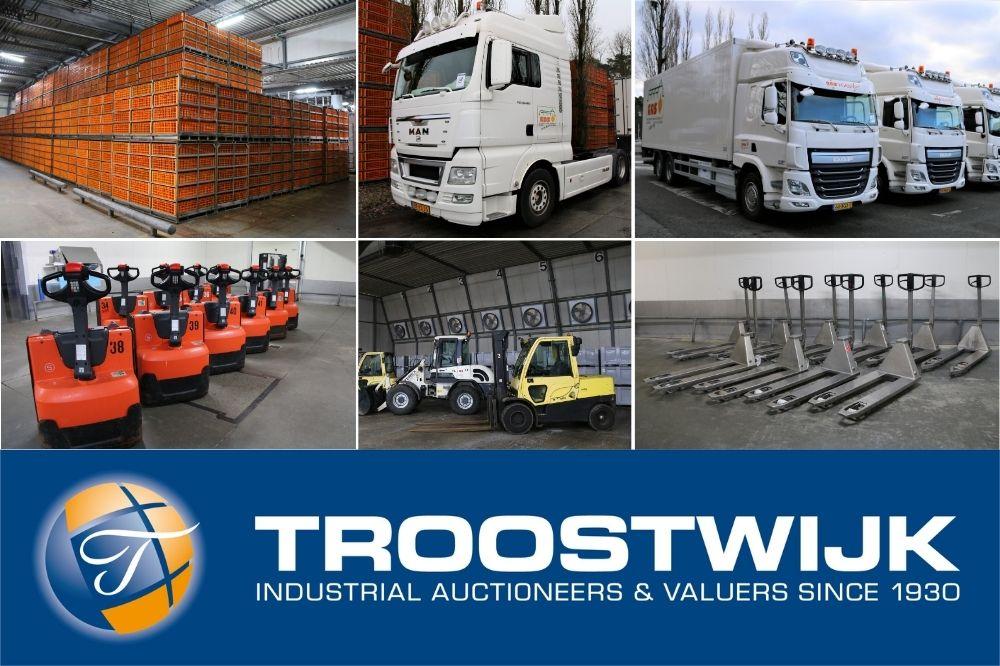 Vrachtwagens, trailers, pluimvee-containers ex. GPS Nunspeet